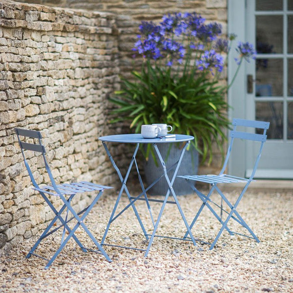 Rive Droit Bistro Set - Dorset Blue