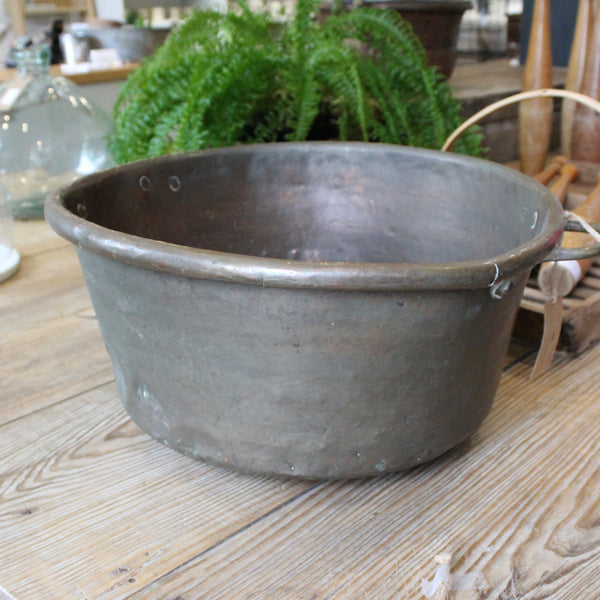 Large Original Copper Pan from France