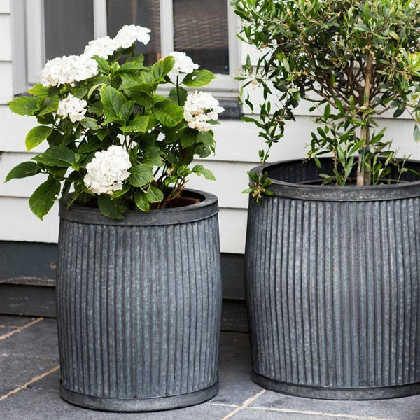Fluted Venice planter in two sizes