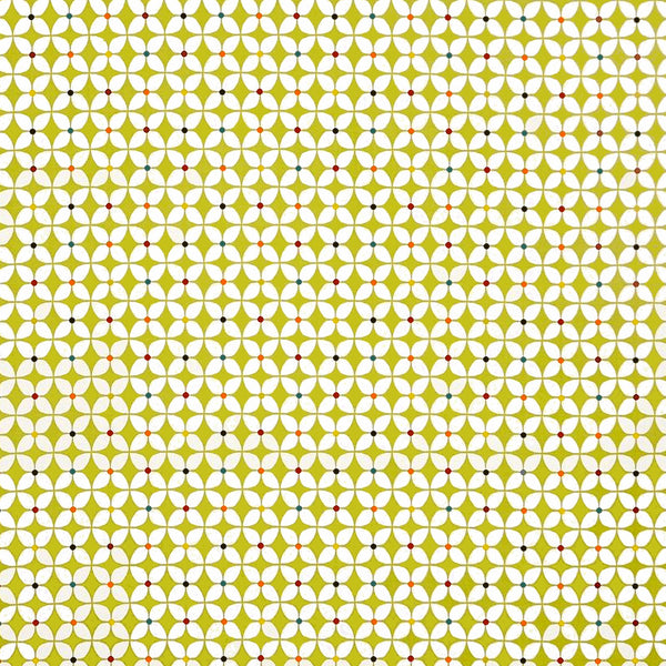 Zap Lime Gloss Oilcloth