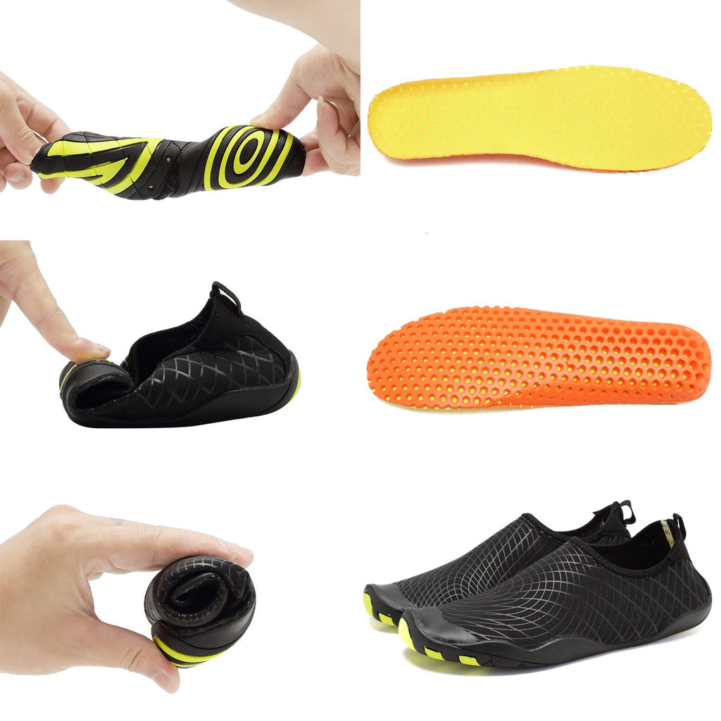 Men Women Barefoot Quick-Dry Water Aqua Shoes Skin Flexible Socks For SwimWalkingBeachDriving
