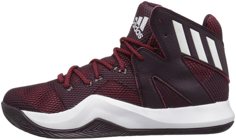 maroon adidas basketball shoes