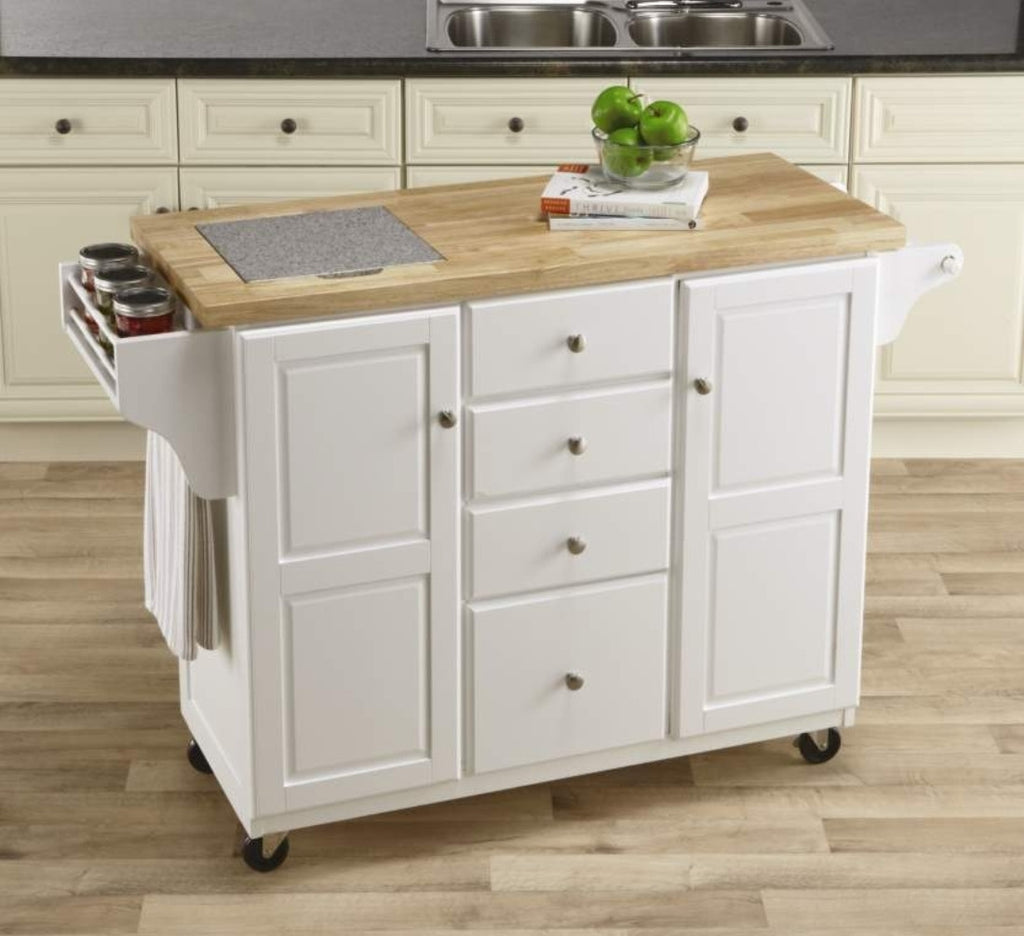 Kitchen island with granite insert - Kitchen Island With Granite Insert