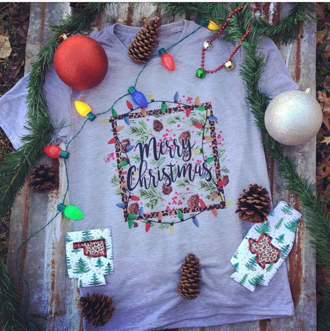 Merry Christmas Tee | S-3X $28 | The Brave Beauty