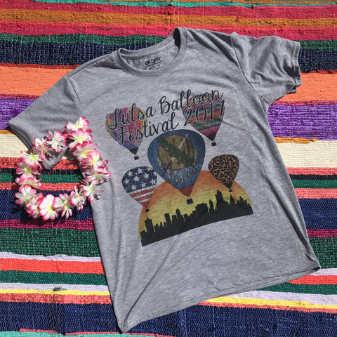 Tulsa 2017 Balloon Limited Tee | S-2X $24.99 | Tulsa Balloon Festival | The Brave Beauty
