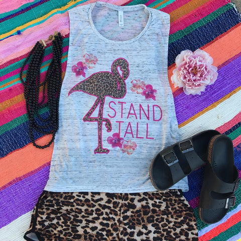 Stand Tall | S-2X $31.99 | Marbled Graphic Tee | The Brave Beauty