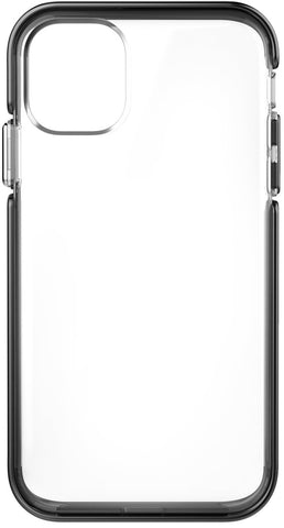 Ambassador Case for Apple iPhone 11 - Clear Black Silver