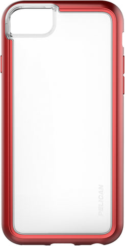 Adventurer Case for Apple iPhone 6 / 6s / 7 / 8 - Clear Metallic Red