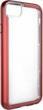 Adventurer Case for Apple iPhone 6 / 6s / 7 / 8 / SE - Clear Metallic Red