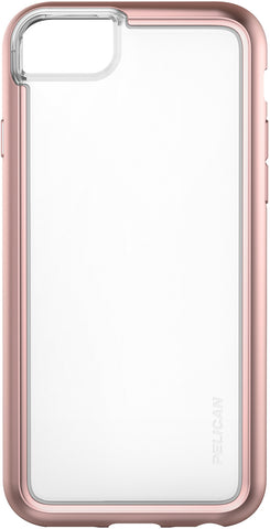 Adventurer Case for Apple iPhone 6 / 6s / 7 / 8 - Clear Metallic Rose Gold