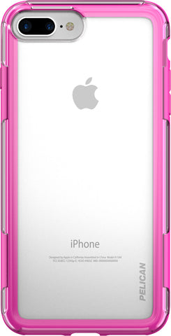 Adventurer Case for Apple iPhone 7 Plus - Clear Pink