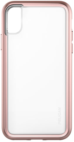 Adventurer Case for Apple iPhone X / Xs - Clear Rose Gold