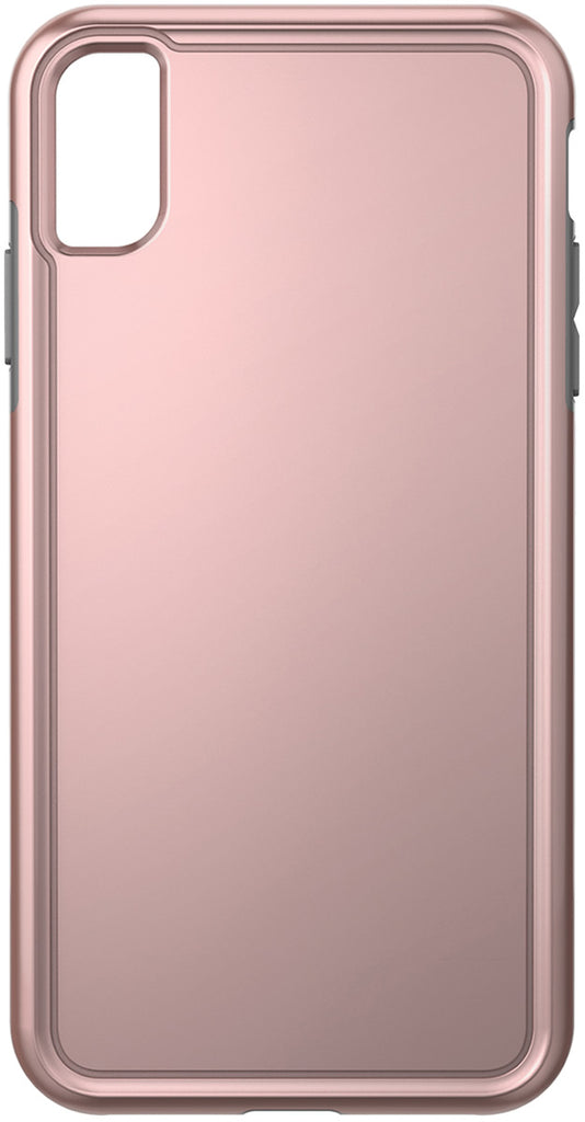 Adventurer Case for Apple iPhone Xs Max , Metallic Rose Gold/Gray