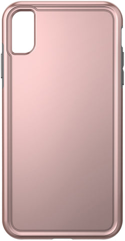 Adventurer Case for Apple iPhone Xs Max - Metallic Rose Gold/Gray