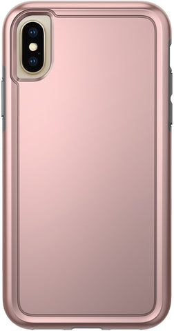 Adventurer Case for Apple iPhone X / Xs - Metallic Rose Gold/Gray