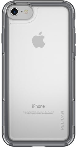 Adventurer Case for Apple iPhone 7 - Clear Gray