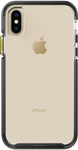 Ambassador Case for Apple iPhone X / Xs - Clear Black Gold