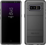 Protector Case for Samsung Galaxy Note 8 - Black Gray