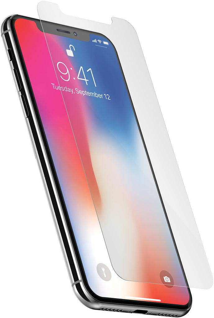 low priced 5b351 19acb Interceptor Glass Screen Protector for iPhone X