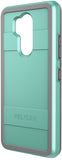 Protector Case for LG G7 ThinQ - Aqua/Gray