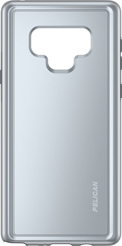 Adventurer Case for Samsung Galaxy Note 9 - Clear Metallic Silver