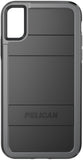 Protector Case for Apple iPhone X / Xs - Black Gray