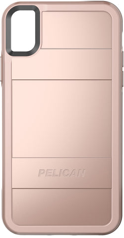 Protector Case for Apple iPhone XR - Metallic Rose Gold