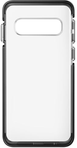 Ambassador Case for Samsung Galaxy S10 - Clear Black Silver