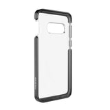 Ambassador Case for Samsung Galaxy S10e - Clear Black Silver