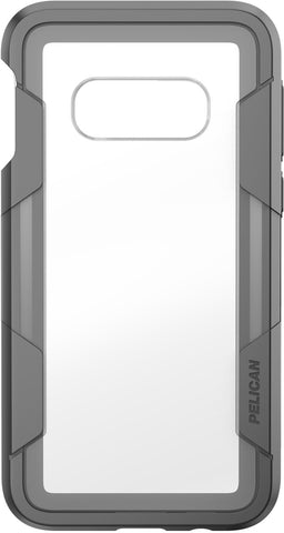 Voyager Case for Samsung Galaxy S10e - Clear Gray