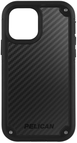 Shield Case for Apple iPhone 12 & 12 Pro - Black Kevlar