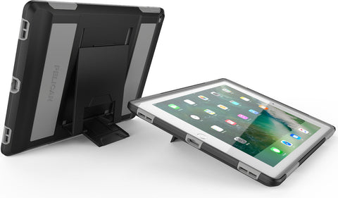 Voyager Case for iPad Pro 12.9 - Black/Gray