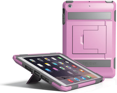 Voyager Case for iPad Mini 1/2/3 - Pink/Gray