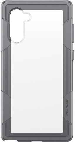 Voyager Case for Galaxy Note 10 - Clear Gray