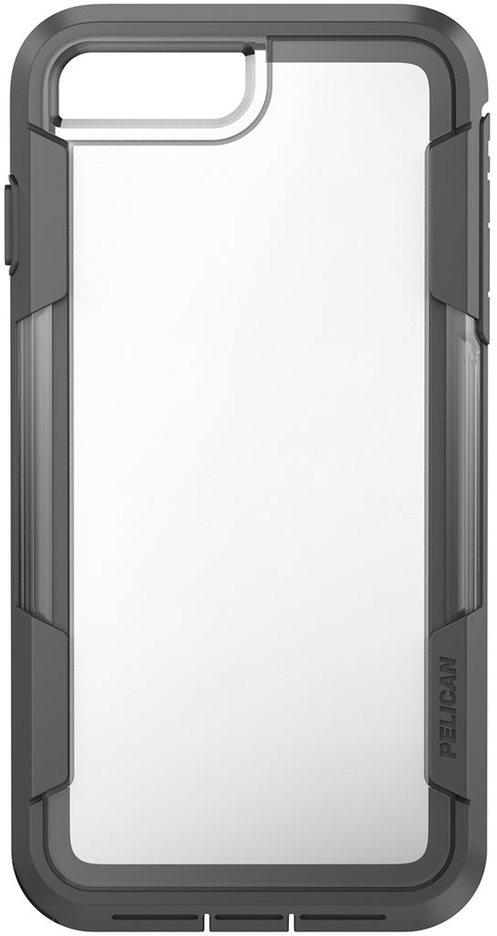 check out 67098 4044c Voyager Case for Apple iPhone 7 Plus - Clear Gray