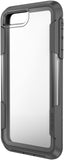 Voyager Case for Apple iPhone 8 Plus - Clear Gray