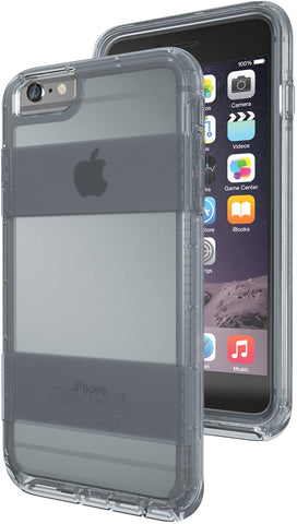 Voyager Case for Apple iPhone 6/6s Plus - Clear Gray