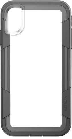 Voyager Case for Apple iPhone Xs Max - Clear Gray