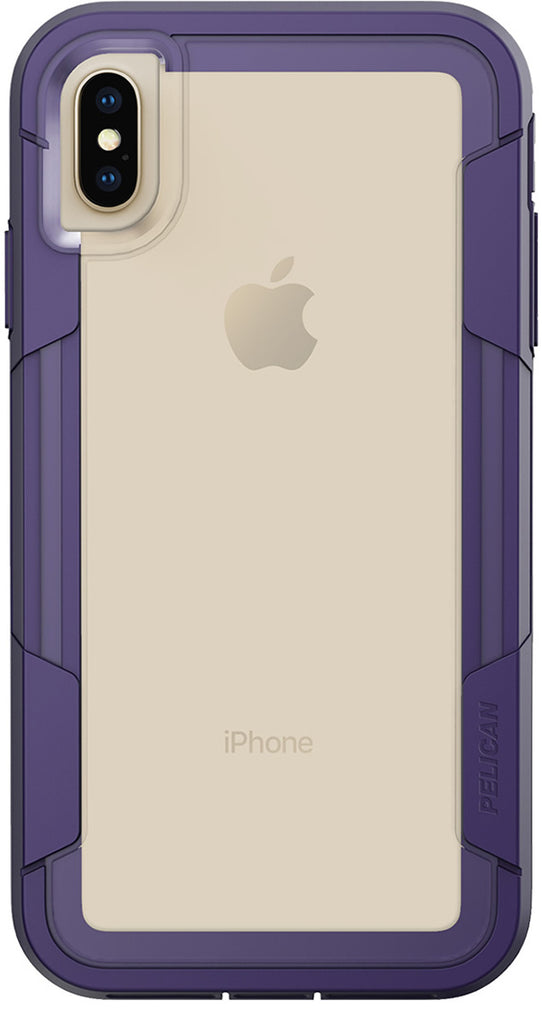 Pelican Voyager Case For Apple Iphone Xs Max Clear Purple