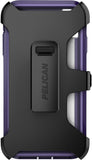 Voyager Case for Apple iPhone X / Xs - Clear Purple