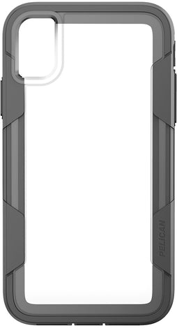 Voyager Case for Apple iPhone XR (No Belt Clip) - Clear Gray