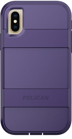 Voyager Case for Apple iPhone X / Xs - Dark Purple