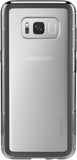 Adventurer Case for Samsung Galaxy S8+ (PLUS SIZE) - Clear Black