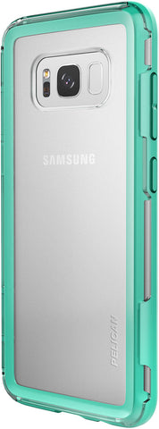 Adventurer Case for Samsung Galaxy S8+ (PLUS SIZE) - Clear Teal
