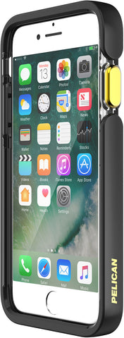 Ambassador Case for Apple iPhone 6 / 6s / 7 / 8 / SE - Clear Black