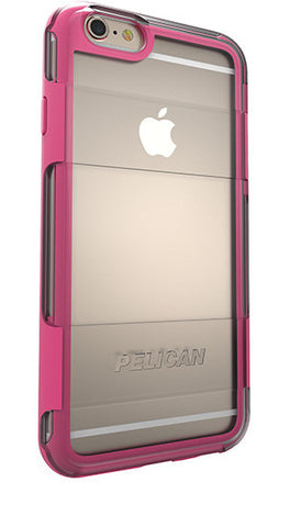 Adventurer Case for Apple iPhone 6/6s - Clear Pink