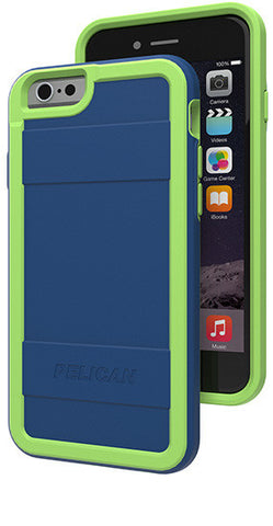 Protector Case for Apple iPhone 6/6s - Indigo/Lime