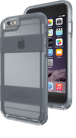 Voyager Case for Apple iPhone 6/6s - Clear Gray