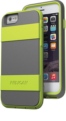 Voyager Case for Apple iPhone 6/6s - Green/Gray