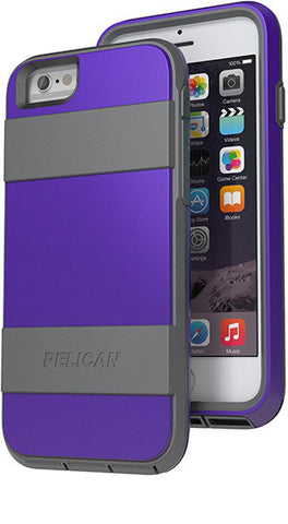 Voyager Case for Apple iPhone 6/6s - Purple/Gray